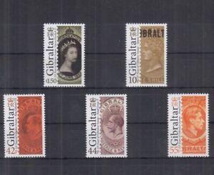 V455. Gibraltar - MNH - Famous People
