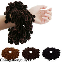 Muslim Women Fashion Scrunchie Elastic Hair Ring Hijab Scarf Headwear Hairbands