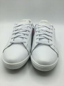 Skechers Women's Drive 4 Spikeless Waterproof Golf Shoe, White/Silver, 6.5 M US