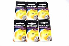 Duracell Button Cell Type 379 Watch Electronic Batteries 6 Pack