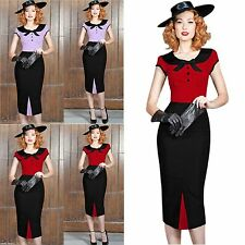 Unbranded Women's Short Sleeve Knee Length 50's, Rockabilly Dresses