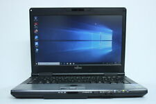"Laptop Fujitsu Lifebook S752 14.1"" i5-3230M 4GB 500GB Windows 10 Webcam Used"