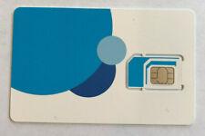 New AT&T Sim Card 3in1 Multi triple cut 3G 4G LTE Postpaid Prepaid USA 6933A