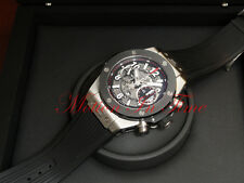 Hublot Big Bang UNICO Chronograph 45mm Titanium Skeleton W/Rubber 411.NM.1170.RX