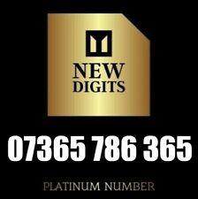 GOLD BUSINESS VIP UNIQUE PLATINUM MOBILE PHONE NUMBER SIM CARD 365 786 365