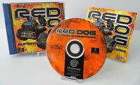 Sega Dreamcast - Red Dog Superior Firepower + Anleitung + OVP