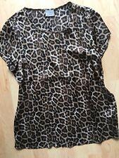 VERO MODA Bluse Blusenshirt #Leopard Gr.M Neu!