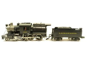 Williams 5016 Lackawanna Crown Edition Brass Painted Camelback Loco NIB