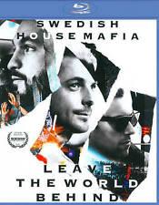 Leave the World Behind Blu-ray Disc, 2014 Swedish House Mafia NEW Sealed!