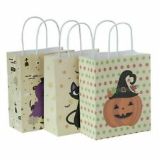 3PCS Halloween Candy Bags Portable Storage for Season Goodies Props Pumpkin Gift
