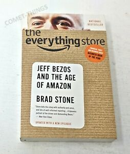The Everything Store ~ Jeff Bezos and the Age of Amazon LIKE NEW UNUSED UNREAD
