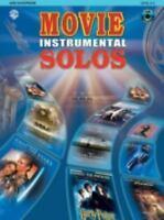 Movie Instrumental Solos: Alto Saxophone, Book & CD