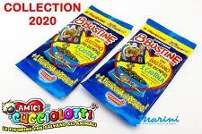 AMICI CUCCIOLOTTI 2020 2 BUSTONE 16 BUSTINE FIGURINE STICKERS 2 FIGURONE OMAGGIO