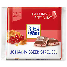 ORIGINAL German Ritter Sport CURRANT STREUSEL -100g-