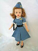Vintage Stewardess Fashion 4 Little Miss Revlon Hat Dress Bag Belt Shoes (Toni)