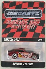 Datsun 240Z Redline Real Riders 2017 Riverside Show Special 3 of 5 Hot Wheels