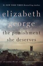The Punishment She Deserves von Elizabeth George (2018, Gebundene Ausgabe)