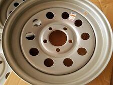 15x5  5x4.5 Sparkle Silver Mod Trailer Wheel / Rim 15 Inch /5 Lug RV LOW $ Spare