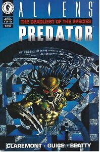 Aliens The Deadliest of the Species Predator #1 Dark Horse Comics 1993
