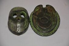Human Skull Antique Ashtray Gift For Friends And Office