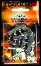 BATTLETECH 20-236 Marauder IIC (re-seen) NISB ( hex base / 20-800 )