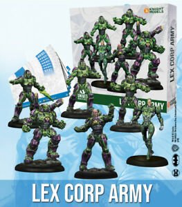 DC Universe Miniature Game Lexcorp Army NIB