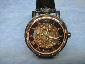 Men's Automatic Mechanical Skeleton Watch