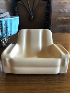 Vintage Mid Century Ceramic Lounge Chair Pipe Holder Pipe Rest