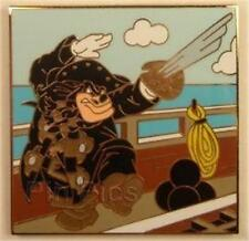 WICKED PETE BLACKBEARD PIRATES STARTER SWORD & CANNONBALLS Disney MYSTERY PIN