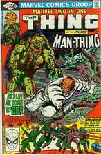 Marvel Two-In-One # 77 (Thing + Man-Thing) (USA, 1981)