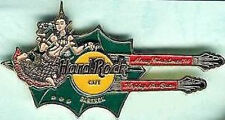 Hard Rock Cafe BANGKOK 1994 Christmas Happy New Year DN GUITAR PIN - HRC #961