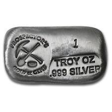 1 oz Silver Bar - Prospector's Gold & Gems - SKU #62296