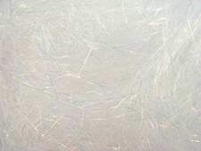 10g ANGELINA FIBRE WHITE BLAZE CRYSTALINA HEAT BONDABLE FUSIBLE CRAFTS