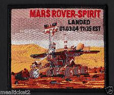 """MARS ROVER-SPIRIT - LANDED 01,03,04 11:35 EST - 4""""  SPACE PATCH - MINT *****"""