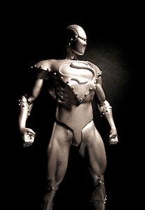 DC: Justice: ARMOURED SUPERMAN figure - RARE (sideshow)