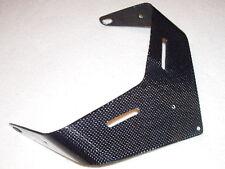 CARBON FIBRE Number Plate Hanger Aprilia Mille RSV RSVR 98 to 03