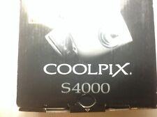 Nikon COOLPIX S4000 12.0MP Digital Camera - Champagne silver