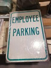 "Employee Parking 12"" x 18""Reflective Aluminum Signs - Premium3M Diamond Grade"