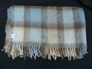 LOVELY MOHAIR BLANKET/THROW~CRATE & BARRELL~68 X 55