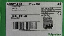 Disjoncteur Dt40n 3p N C32 32a Schneider A9n21409
