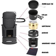 ALOCS CW-C01 Outdoor Picnic Camping Pot Cookware 7-Piece Set FEE SHIPPING IN USA