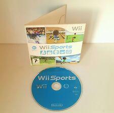Wii Sports in original card case -Ten Pin Bowling Tennis Golf Boxing Baseball