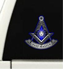 "ProSticker 128 (One) 4"" Past Master Masonic Freemason Decal Sticker"