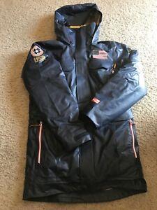 Official Team USA Olympic Jacket Columbia U.S. Ski Team S Outdry 3-1 Parka
