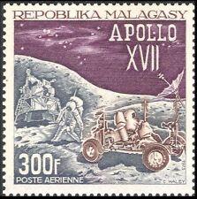 Malagasy 1973 Space/Apollo 17/Moon Lander/Rover/Astronauts/Transport 1v n28497a
