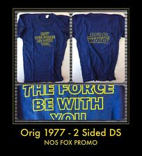 1977 2 SIDED RARE NOS vtg Orig Star Wars ANH FOX PROMO New HOPE IV T-Shirt VIII