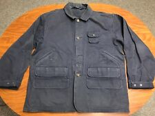 MENS VINTAGE POLO RALPH LAUREN DUCK CANVAS BUTTON UP HUNTING SHOOTING JACKET XL