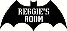 Personnalisés batman logo, graphique autocollant vinyle autocollant. porte, mur de conception nouvelle