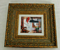 """2016 Michael Cheval """"Discord Of Analogy"""" On Aluminum Hand Signed Framed"""