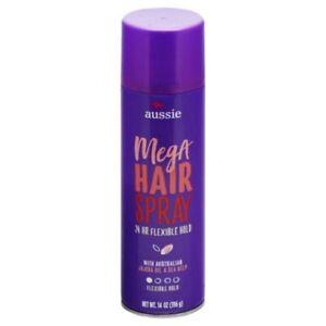 Aussie Mega Hairspray 24 Hour Flexible Hold